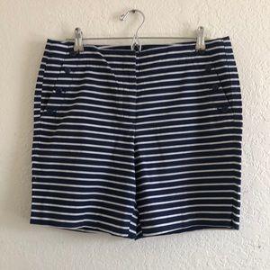Talbots striped shorts